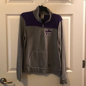 Quarter Zip KSU Wildcats